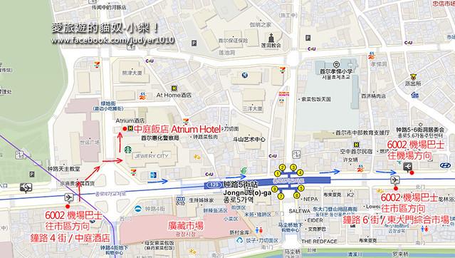 鐘路5街地圖