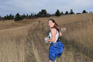 Approaching First Aid Station at Mile 10