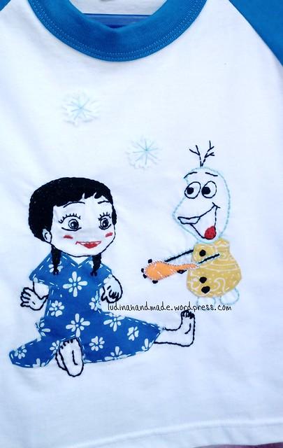 applique-tshirt-frozen-anna