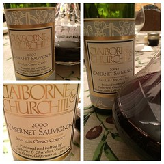 Dear @claiborneandchurchill we opened one of our library cabs. Thank you for this incredible wine!