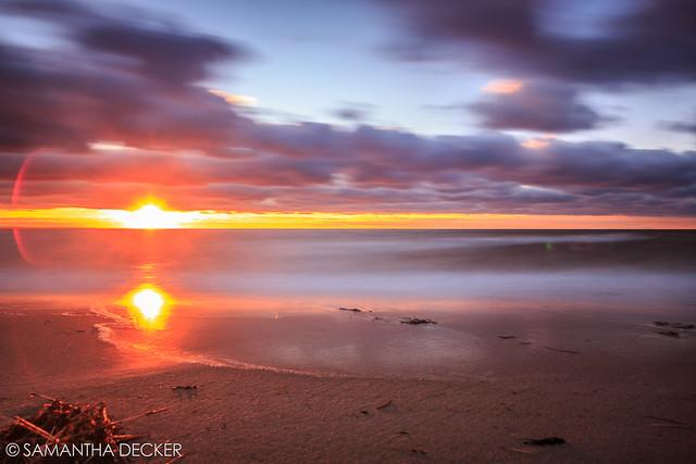 Sunset at First Encounter Beach