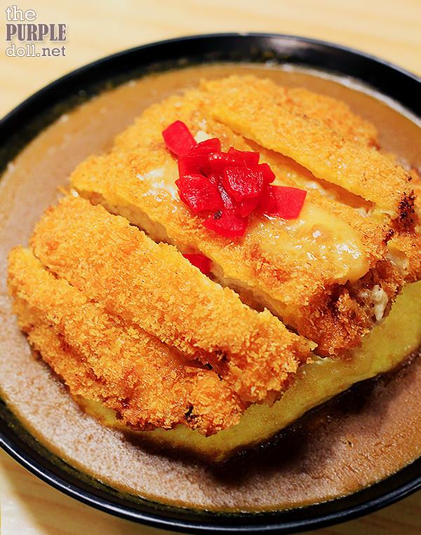 Fuwatoro Tenshin Han Curry Cheese Tonkatsu