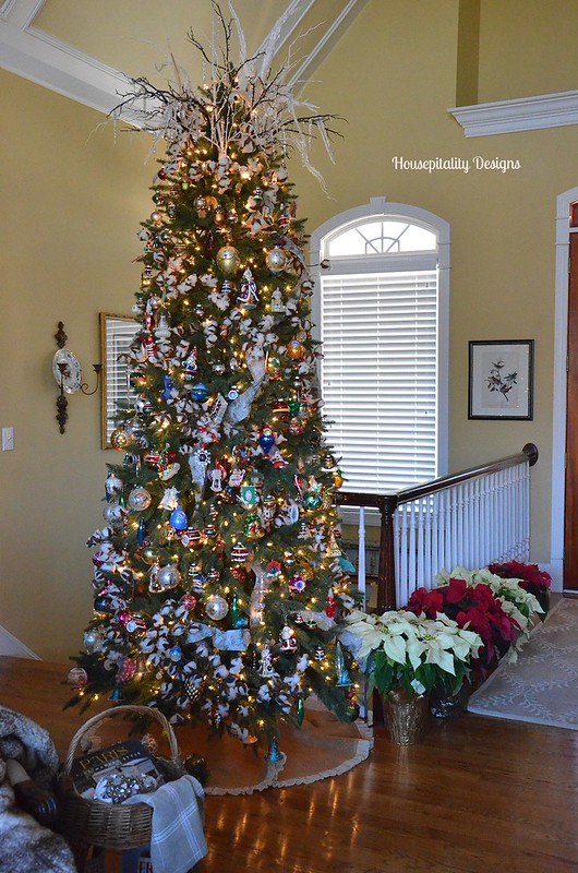 Great Room Christmas Tree 2014-Housepitality Designs