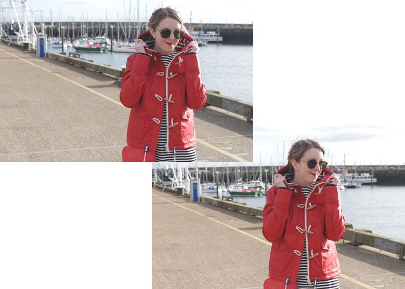How to wear a duffle coat, Bumpkin Betty