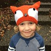 Finished this for my little guy last night. Now for 3 more :grin: #knitting #knittersofinstagram #knitstagram #fox #hat #malabrigo