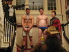 Manhunt Halloween Part, Brookline MA