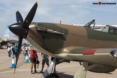 G-HUPW R4118 - G5-92301 - Private - Hawker Hurricane I - Fairford RIAT 2006 - Steven Gray - CRW_1349