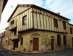Saint Jean d' Angely, maison à colombages