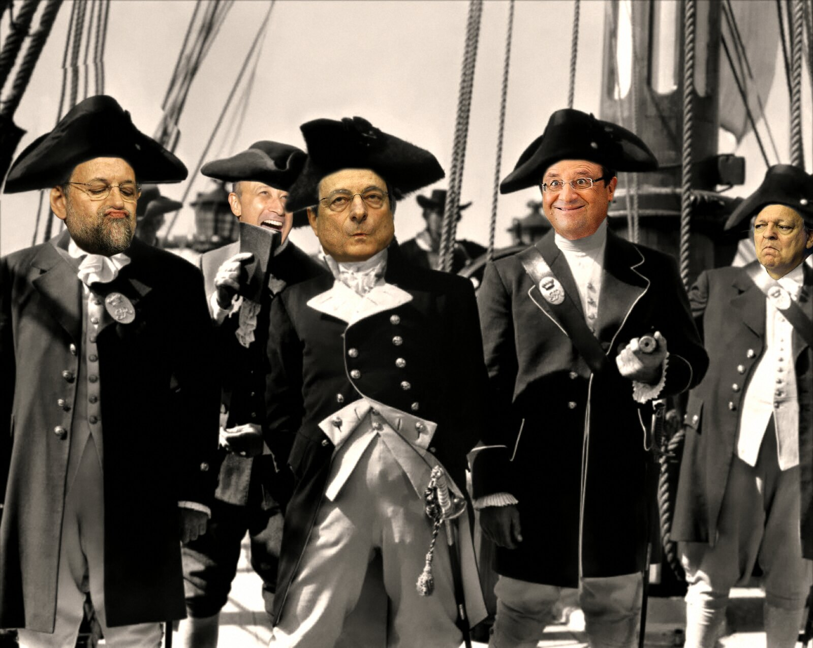 MUTINY ON THE QE