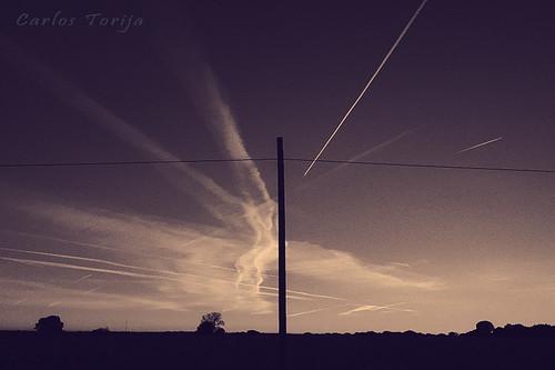 Crossing lines. / Cruce de líneas.