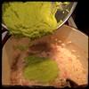 #Asparagus #Risotto - then the asparagus purée