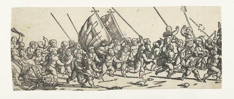 Monogrammist LIW - Children's Crusade (5) 1522 - 1532