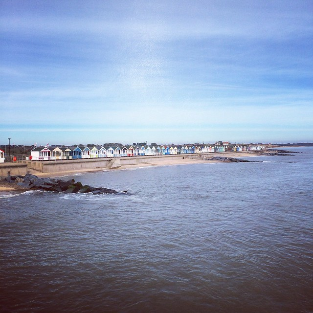 The view from Southwold pier