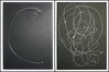 """Music and Physics - Albert Einstein`s Violin String - Albert Einsteins Violinsaite - Drawings of a no longer used Prop, that was placed on my table during Rehearsals Friedrich Dürrenmatt """"Die Physiker"""" """"The Physicists"""" by hedbavny"""