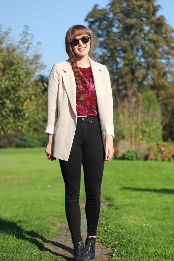 Vero Moda Blazer - Dr. Denim Plenty Jeans Outfit Blogger - dr.denim jeans black skinny