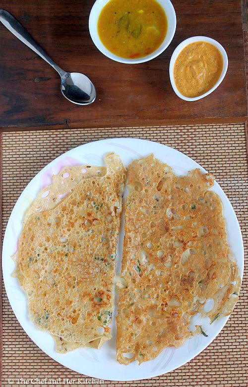 wheat flour dosa