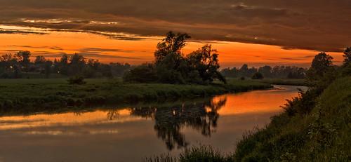 longexposure sunset panorama ontario canada landscape gimp conestogoriver waterlooregion conestogariver hawkesville microsoftice oloneo olympusomdem5 conestogariverproject