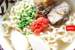 Suki Soba (Pork Ribs Okinawan Noodles)