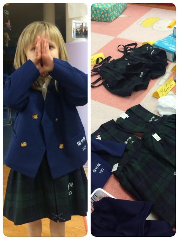 Униформа в японском садике или «ёчиэновые наряды» для малышей