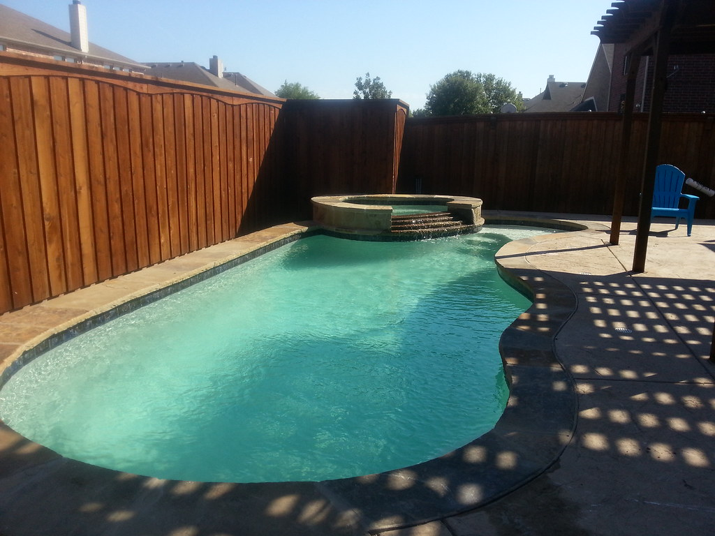 new member new pool build in dfw area