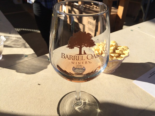 Wine tasting - Barrel Oak Winery