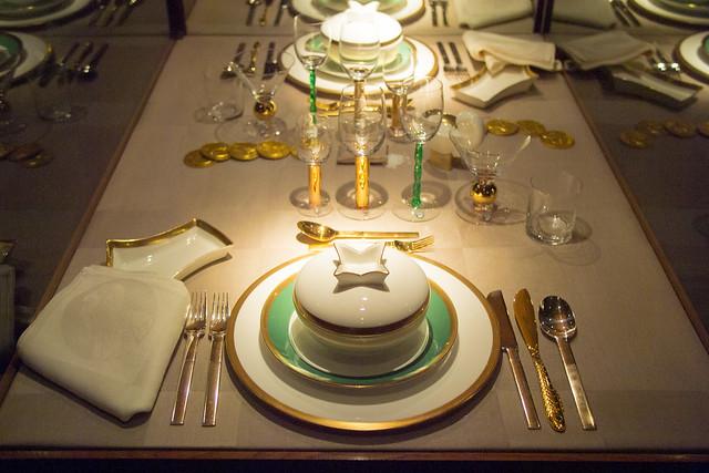 Nobel prize dinner width