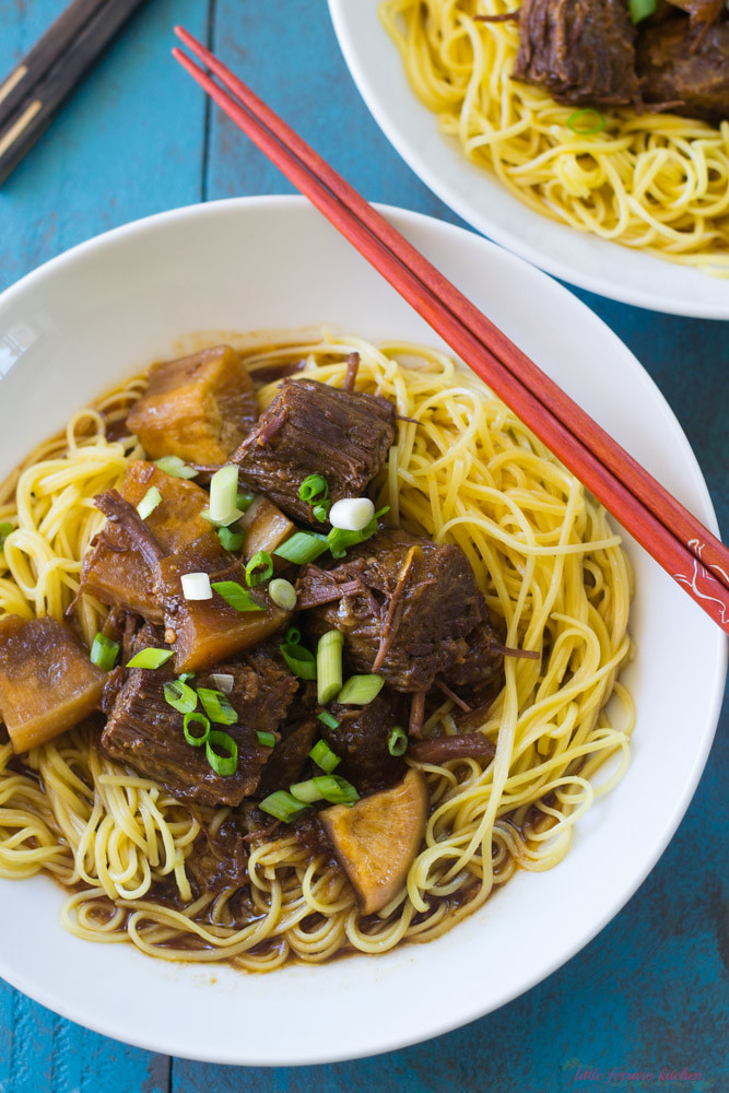 Chinese Beef Stew via LittleFerraroKitchen.com