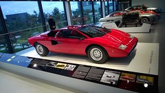 race car, automobile, lamborghini, vehicle, performance car, automotive design, lamborghini, auto show, lamborghini countach, land vehicle, luxury vehicle, supercar, sports car,