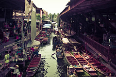 Yet another picture of the floating market (it's gonna be the last one, I promise)