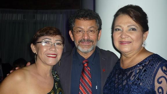 Socorro Pena, Paulo Rocha e Maria do Carmo Lima
