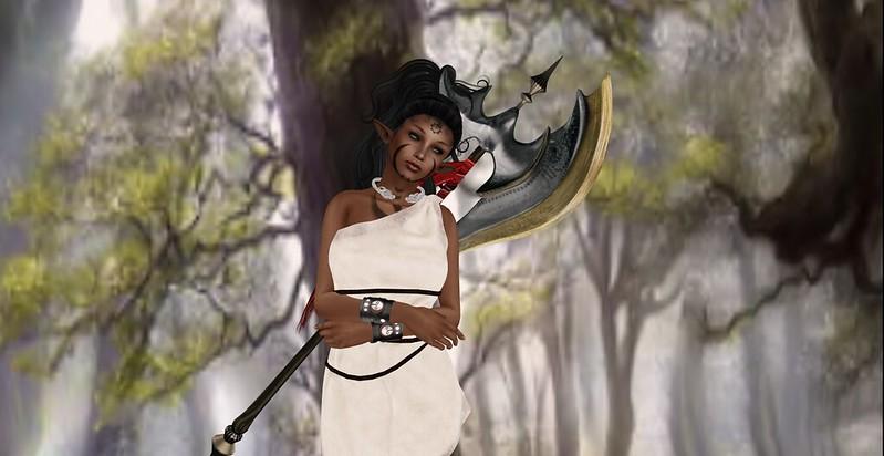 Warrior Of The Woods