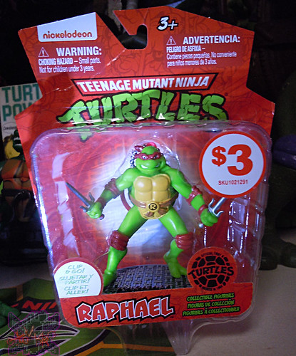 MONOGRAM INTERNATIONAL :: TEENAGE MUTANT NINJA TURTLES; COLLECTIBLE FIGURINES viii / RAPHAEL (( 2014 ))