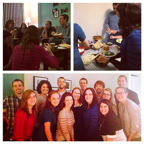Good food, great company and a bunch of fun. Friendsgiving success!
