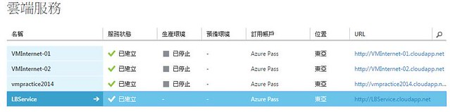 [Azure] VM - 負載平衡和高可用性-5