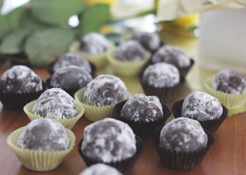 chocolate truffle presents