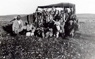 Maroc, partie de chasse, années 1930