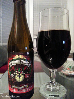 Day 1: Schwarzwald Chocolate Cherry Porter