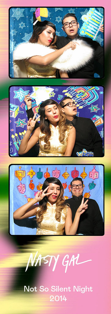 Nasty Gal #NastyorNice Holiday Party 2015 Figueroa Hotel Tangier Room downtown Los Angeles LA