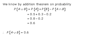 RD-Sharma-class-11 Solutions-Chapter-33-Probability-Ex-33.4-Q-3