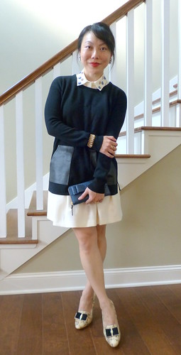 leather pocket tunic