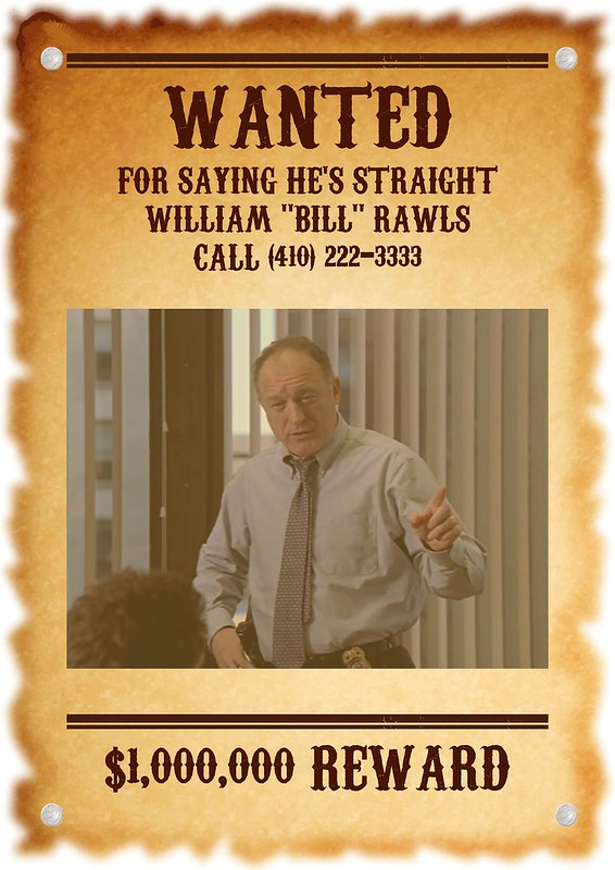 Rawls Wanted Poster
