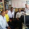 Bate papo na Associação de Capoeira Ladainha, no Distrito Federal.