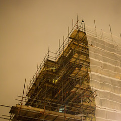 Scaffolding, Cleveland Terrace