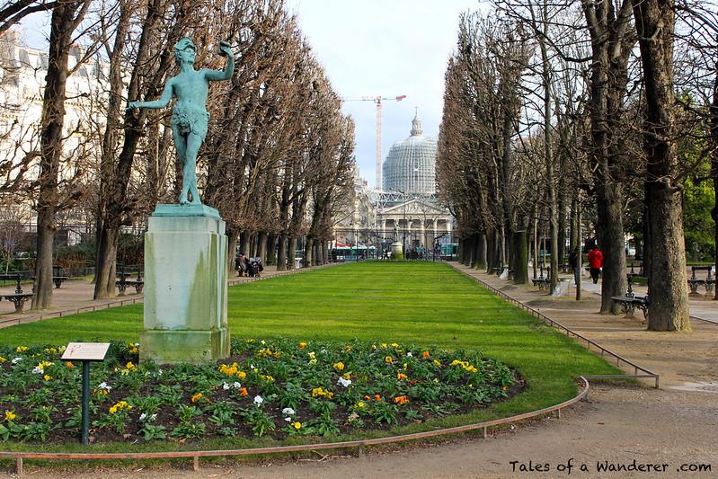 PARIS - Jardin du Luxembourg - Panthéon