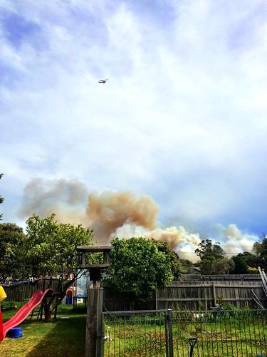 Hastings Bushfire January 2015