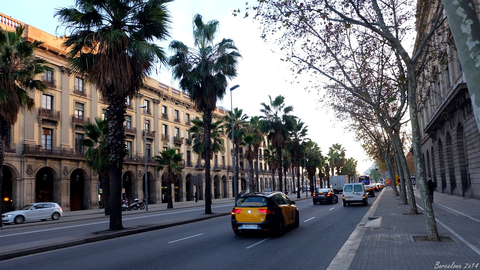 Barcelona day_1, Passeig d Isabel II