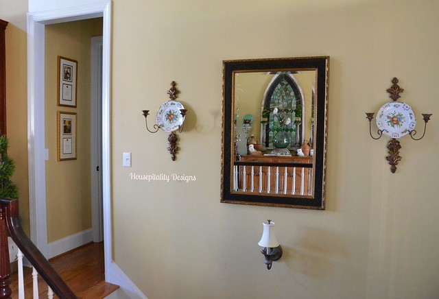Stairwell mirror-Housepitality Designs