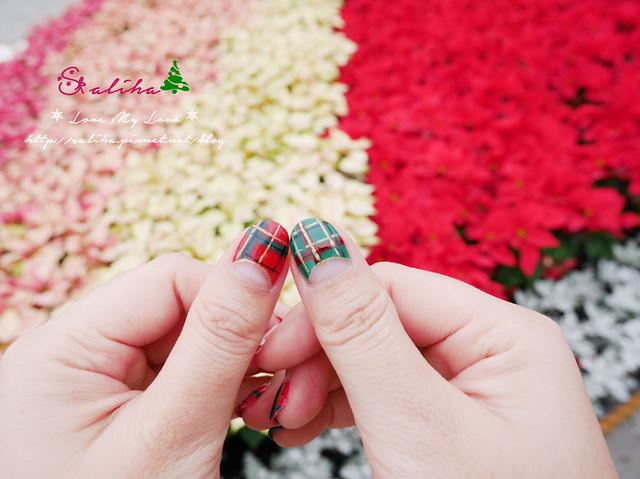 中山站聖誕節美甲光療指甲 (12)