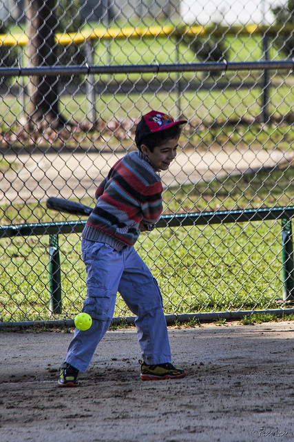 Furman Park baseball kid