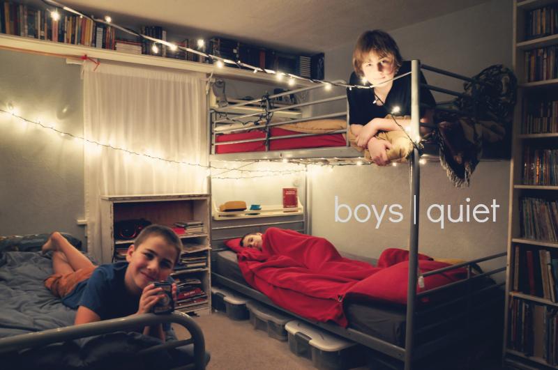 boys quiet